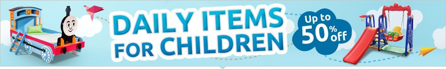 Children Daily Items - Up to 50% off!