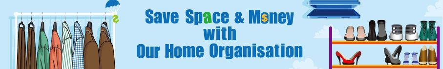Save Space & Money with Our Home Organisation!