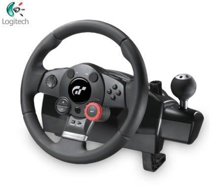 Logitech Driving Force GT Racing Gaming Wheel