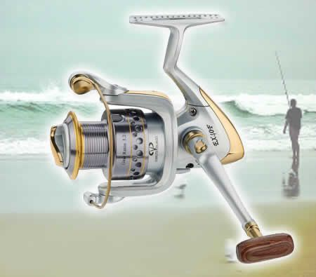 Fishing CMEX40F Aluminium Spool Front Gear Drag 9+1 Ball Bearing Fishing Spinning Reel