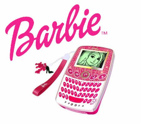 Barbie Pocket Learner Interactive Handheld Electronic Game Set