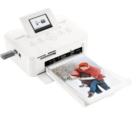 Canon Photo Printer - Selphy CP800 Compact Portable Printer  - White