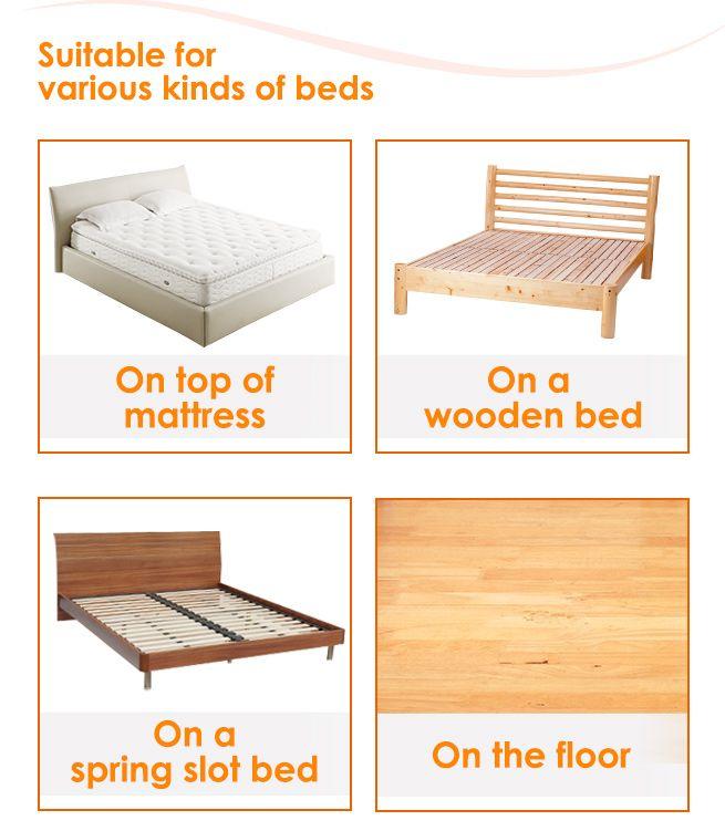Memory Foam Mattress Topper Single Bed