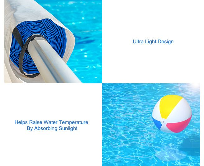 400 Micron Solar Outdoor Swimming Pool Cover Blanket 9 1m X 5 1m Crazy Sales