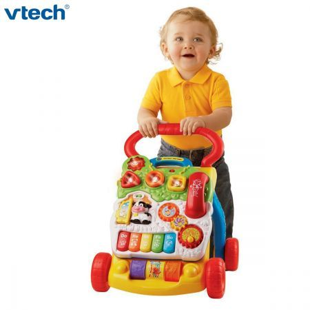 Vtech Sit To Stand First Steps Baby Learning Walker
