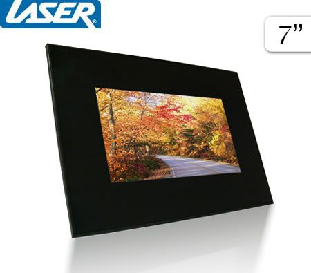 Laser 7 Digital Photo Frame