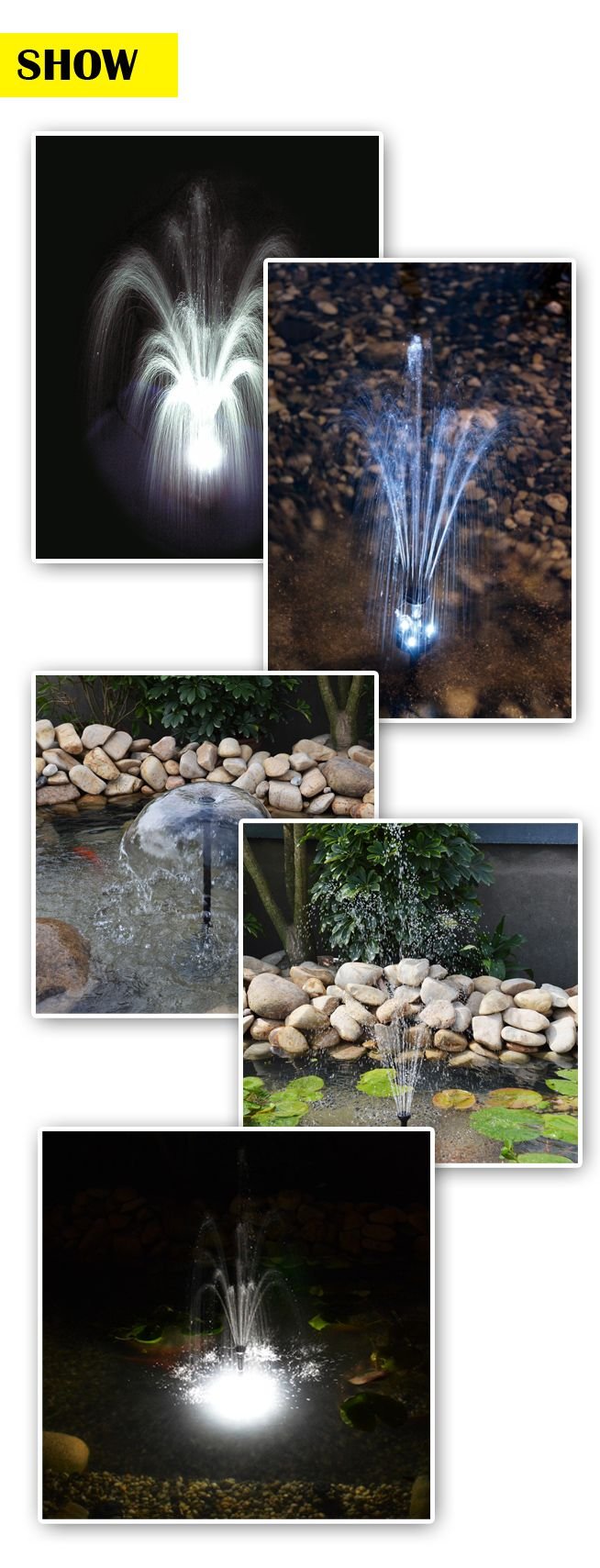 10w Solar Power Fountain Pond Pool Water Feature Pump Kit With Timer Electrical Wiring Led