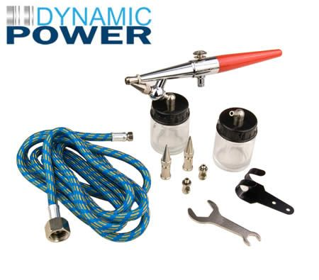 Dynamic Power Single Action Suction Feed Air Brush Kit