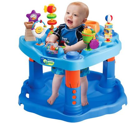 Evenflo ExerSaucer Active Learning Baby Activity Center - Splash