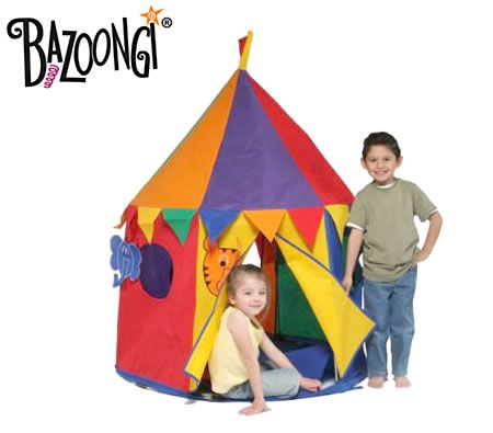 Bazoongi Kids Circus Tent Cottage House Playtent with Detachable Animals  sc 1 st  CrazySales & Bazoongi Kids Circus Tent - crazysales.com.au | Crazy Sales