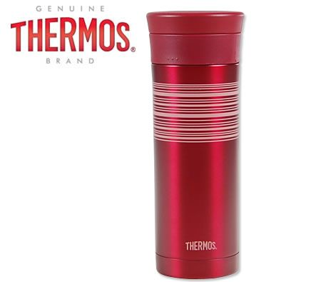 Thermos 480ml 360 Degrees Vacuum Insulated Stainless Steel Drink Tumbler - Red