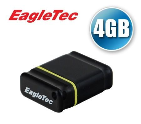 FREE SHIPPING EagleTec 4GB NanoDisk High Speed USB 2.0 Flash Disk