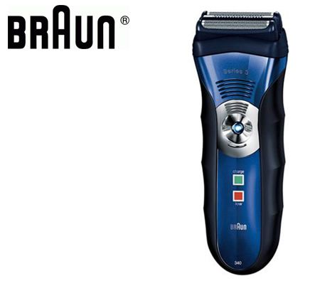 Braun 340WD Series 3 Premium Wet & Dry Electric Shaver