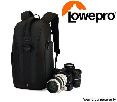 Lowepro Flipside 300 Camera Bag Storage Backpack - Black