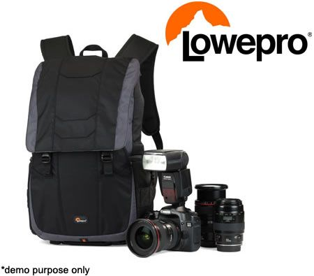 Lowepro Versapack 200 AW Camera Bag Storage Backpack - Black