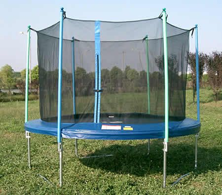 10 Feet Trampoline With Safety Net Mat Pad Crazy Sales