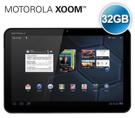 Motorola Xoom Android Smart Tablet Wifi