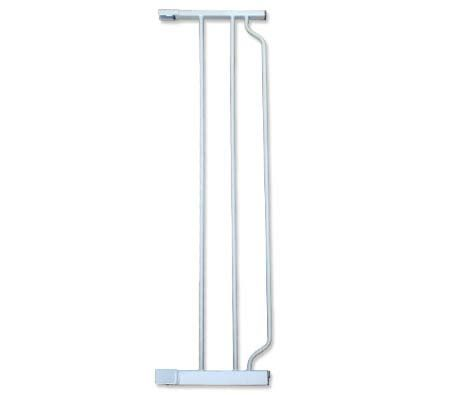 104cm High Baby/Pet Safety Gate 23cm Extension - White - K259A