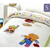 Happy Kids Gingerbread Man Collection 250TC Single Bed Quilt Cover Set
