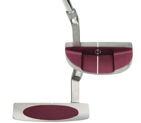Square Putter -Two Light & Easy Ladies Mallet Pink 33""
