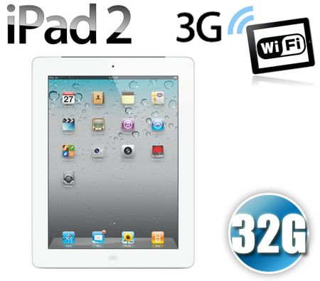 Apple iPad 2 32GB Wi-Fi + 3G - White