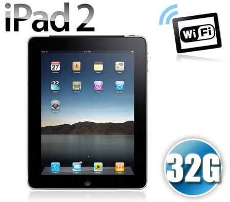 Apple iPad 2 32GB Wi-Fi - Black