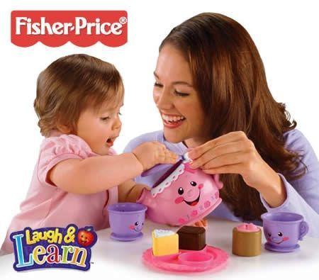 Fisher-Price Laugh & Learn Say Please Musical Tea Set