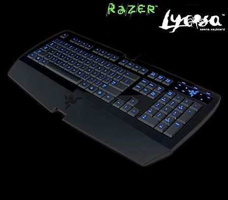Razer Lycosa Backlit Macro-Programmable Gaming Keyboard