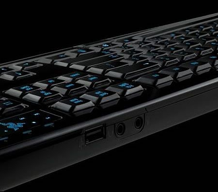 Razer Lycosa Backlit Macro-Programmable Gaming Keyboard - Mirror