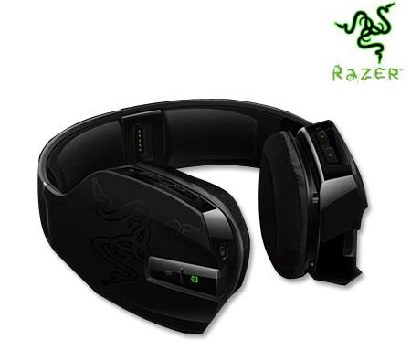 Razer Chimaera 5.1 Xbox 360 Wireless Headset With Volume & Mic Control