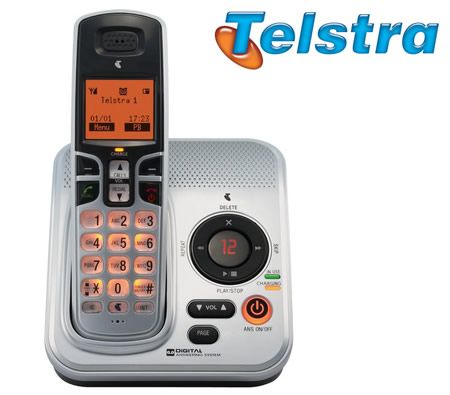 Telstra 9200a Dect Cordless Telephone With Answering