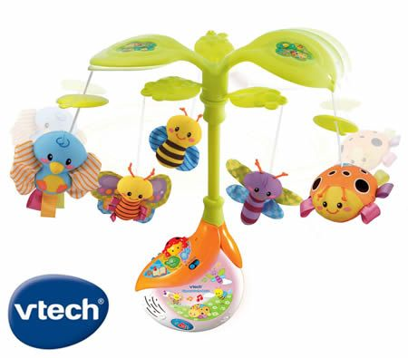 Vtech Baby Sing Amp Soothe Light Up Crib Mobile With Sound