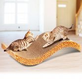 Cat / Kitten Claw Scratching Board Scratch Post - Wave Design
