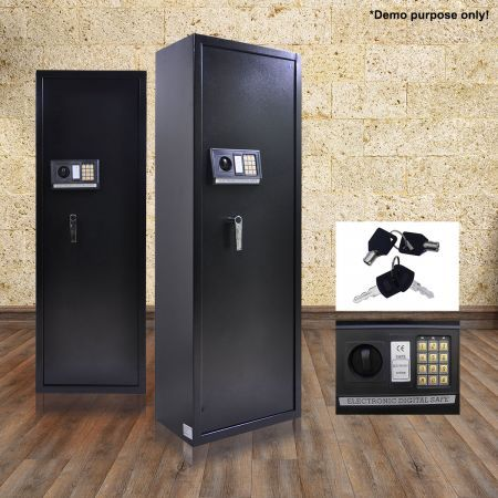 Heavy Duty 10 Gun Storage Locker Safe with Internal Security Box