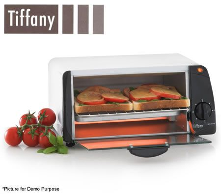 Tiffany 6 Litre Toaster Oven - White