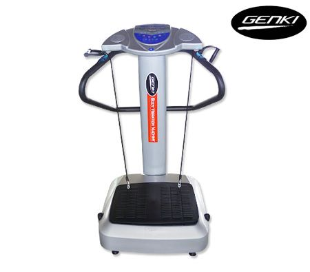 Genki Body Vibration Machine Massage Exercise Platform 1.5HP 1000W