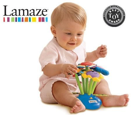 Lamaze Musical Chime Garden for 6 Month Award Winning Toy Crazy Sales