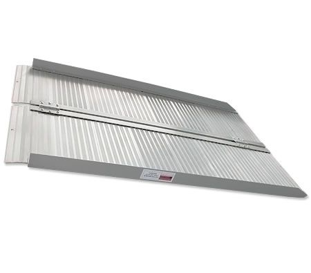 2FT Portable Aluminium Folding Loading Wheelchair Ramp