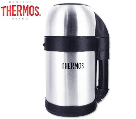 Thermos Vacuum Insulated Stainless Steel Food and Drink Flask - 800ml