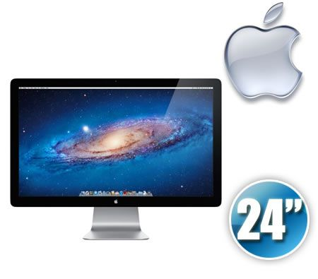 Apple MB382X/A Cinema 24 inch LED Monitor