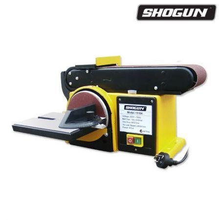 belt and disc sander. shogun 500w belt \u0026 disc sander power tool grinder and 4