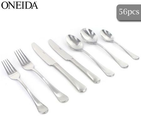 Oneida Berlin 56 Piece 18/0 Stainless Steel Cutlery Gift Box Set - Fit for 8 People  sc 1 st  CrazySales & Oneida Berlin 56 Piece 18/0 Stainless Steel Cutlery Gift Box Set ...