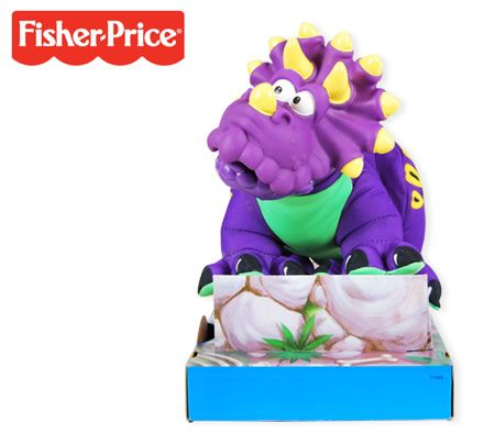 Fisher Auto Sales >> Fisher Price Dino-Roarrr Triceratops - Purple Dinosaur | Crazy Sales