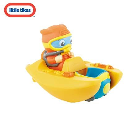 Little Tikes - Light Up Tub Buddies Ocean Explorer Bath Toy