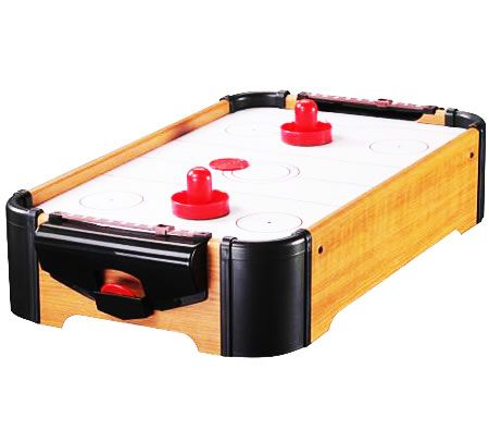 Tabletop Air Hockey Table - 51.5 x 32 x 11.5cm