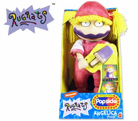 Rugrats Popsicle Angelica Pickles Soft Toy - Feed Her and Clean up the Mess
