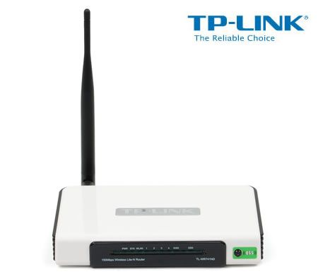 TP-LINK TL-WR741ND 150Mbps Wireless Lite N Router, Atheros, 1T1R, 2 4GHz,  Compatible with 802 11n/g/b, Built-in 4-Port Switch, Detachable Antenna