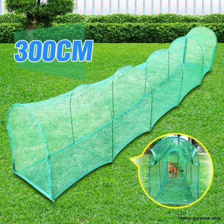 Deluxe Outdoor Foldable Cat Walk & Run Tunnel