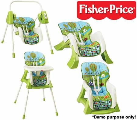 Fisher Price 4 In 1 Baby Bundle System Infant Seat
