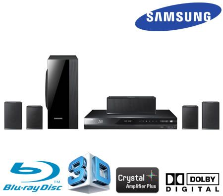 Samsung Series 4 3D Home Theatre Package - 3D Blu-Ray Player + 4 Satellite Speakers
